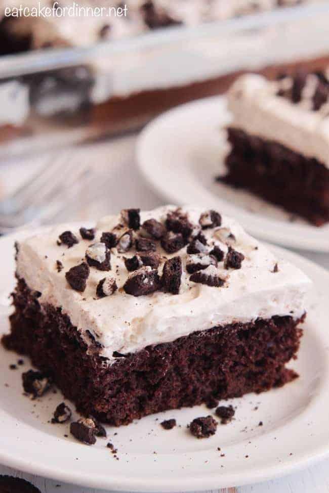 Skinny Cookies n Cream Cake