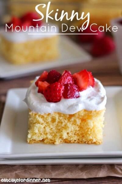 Skinny Mountain Dew Cake