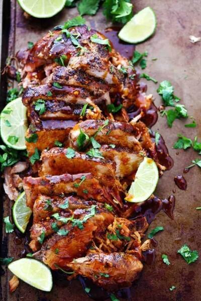Slow Cooker Honey Lime Ginger Pork