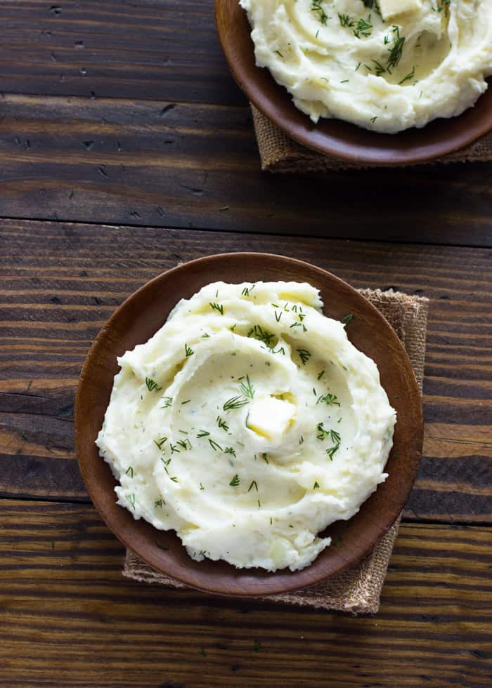 Slow Cooker Ranch Mashed Potatoes