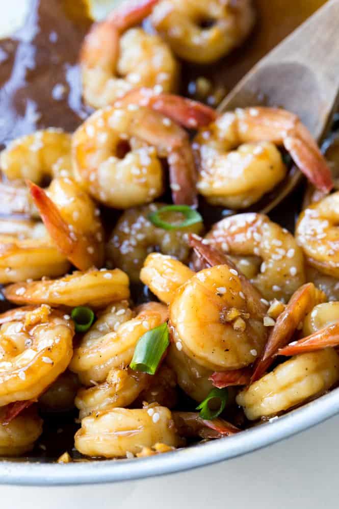 Easy teriyaki shrimp the recipe critic teriyaki shrimp forumfinder Images