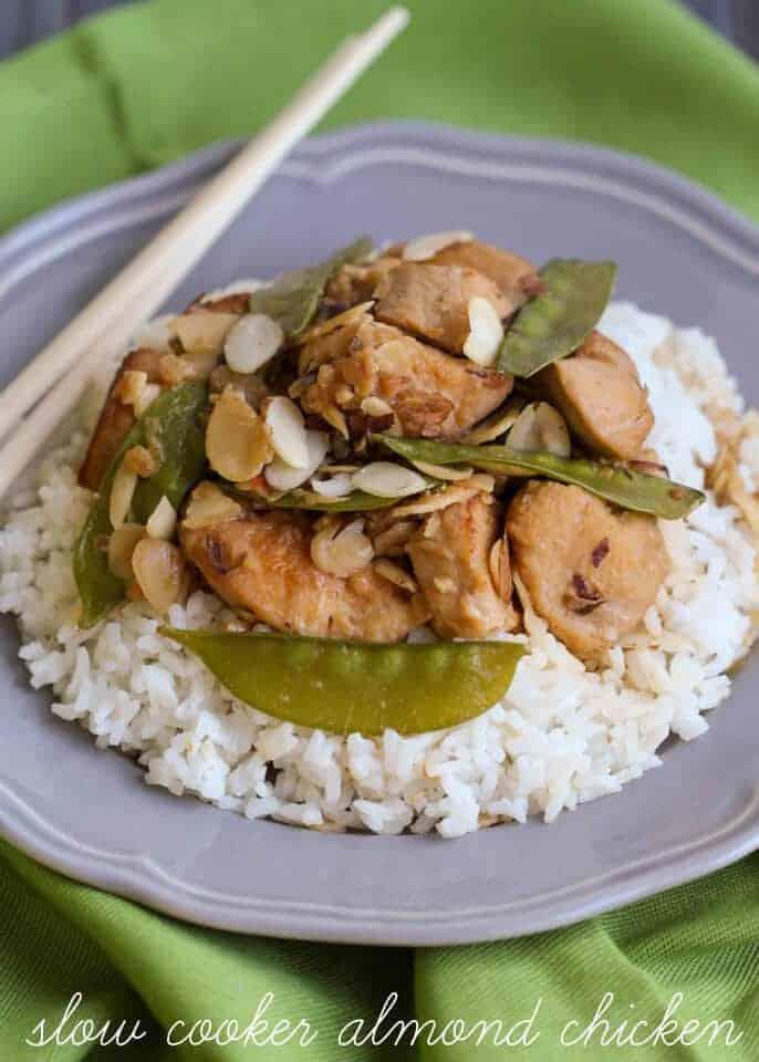 Slow Cooker Almond Chicken