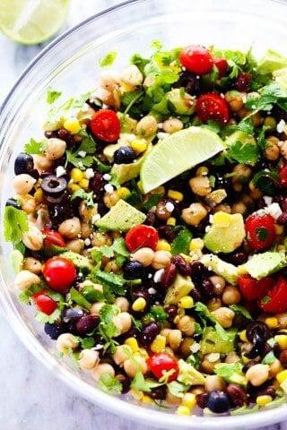 Southwest Chickpea Salad