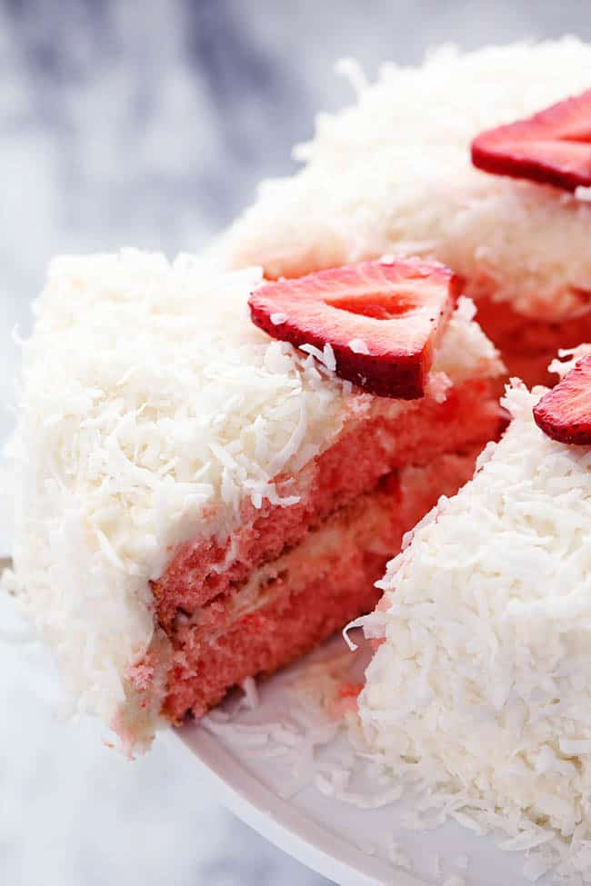strawberrycoconutcreamcake
