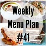 Weekly Menu Plan #41