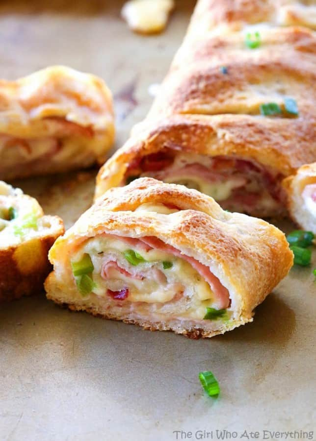 Ham and Swiss Stromboli - The Girl Who Ate Everything