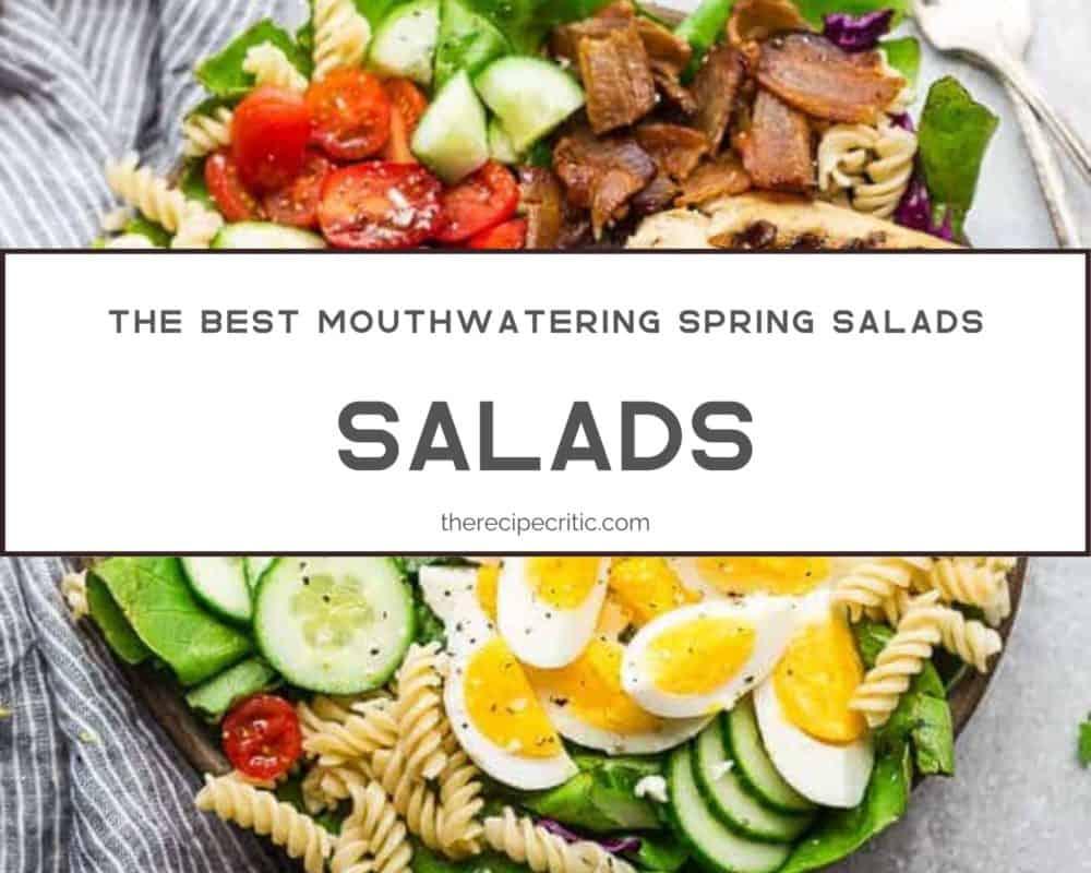 Salad photo with balsamic chicken Cobb salad