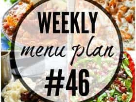 Weekly Menu Plan 46