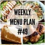 WEEKLY MENU PLAN 49 Collage