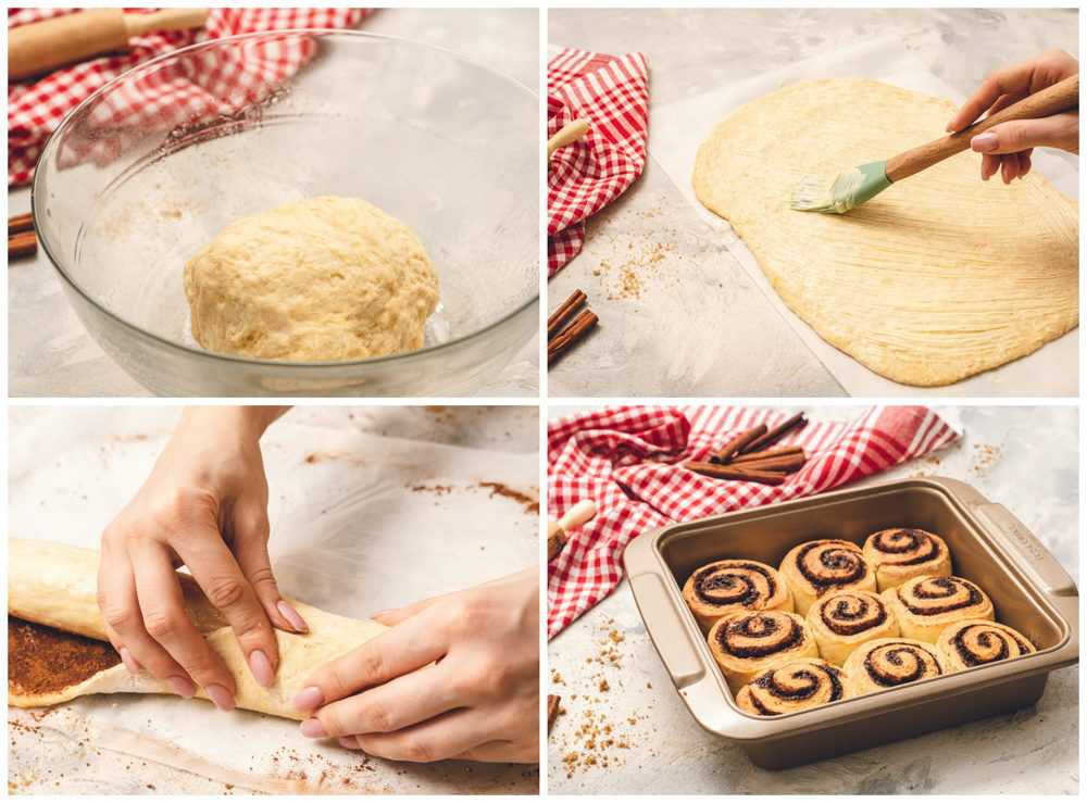Steps to making 45 minute cinnamon rolls.