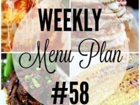 Weekly Menu Plan 58-2