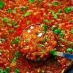 Slow Cooker Restaurant Style Garden Salsa