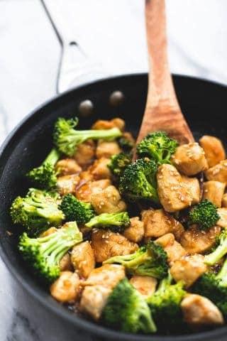 Skillet Sesame Chicken & Broccoli