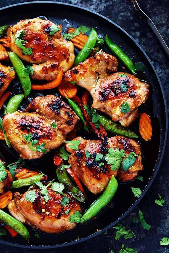 asian chicken bbq recipe