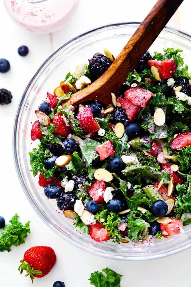 tripleberrykalesalad