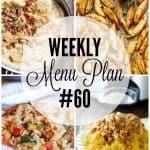 Weekly Menu Plan #60