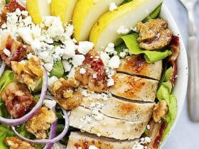 chicken-bacon-walnut-pear-salad-3