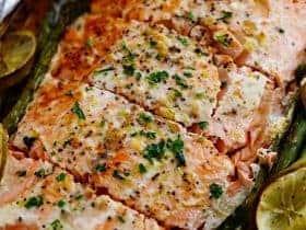 garlicbutterlimesalmon