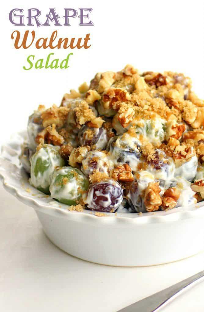 Grape Walnut Salad