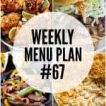 Weekly Menu Plan #67