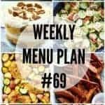 Weekly Menu Plan #69