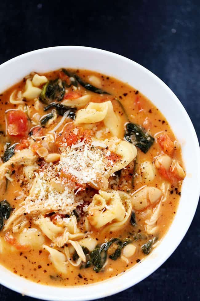 how to cook tortellini soup