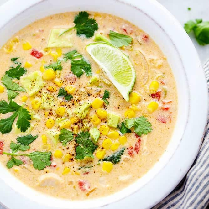 Mexican Chicken Corn Chowder | The Recipe Critic