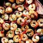 Brown Butter Spicy Garlic Shrimp