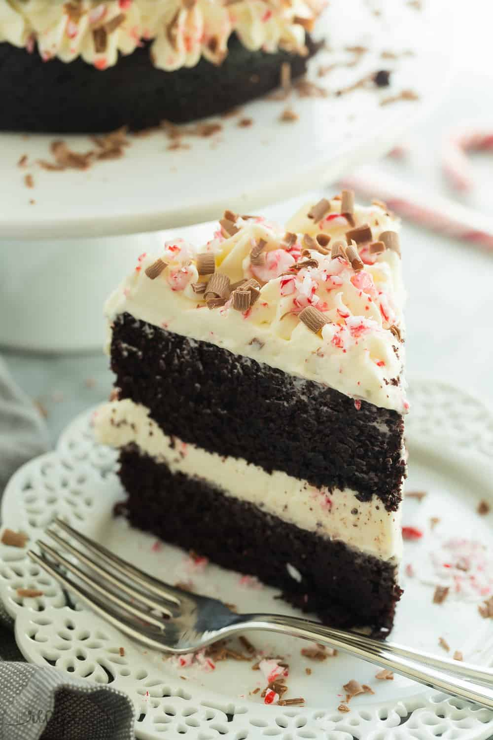 Double Chocolate Peppermint Cake | The Recipe Critic