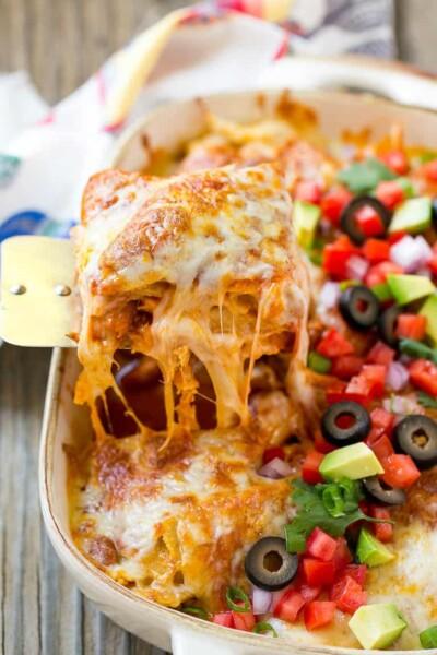 Chicken Enchilada Cassserole