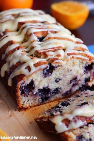 Orange Blueberry Muffin Bread