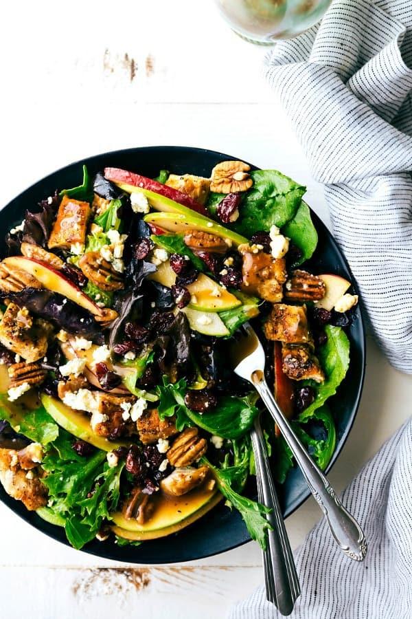 Apple Salad with Honey Dijon Vinaigrette