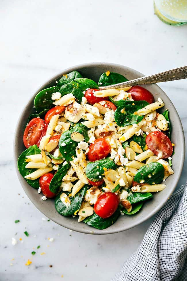 Healthy Chicken Pasta Salad The Recipe Critic