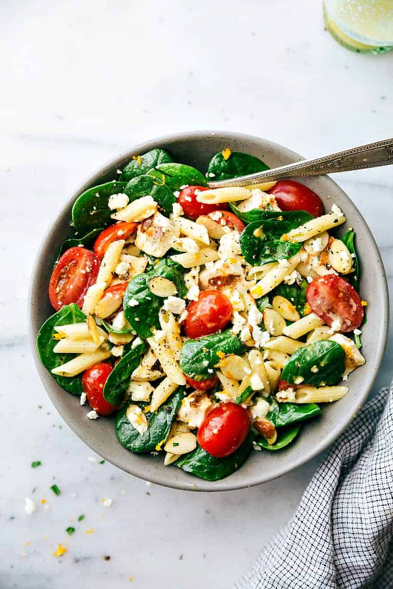 healthy pasta dishes healthy chicken pasta salad the recipe critic 10813