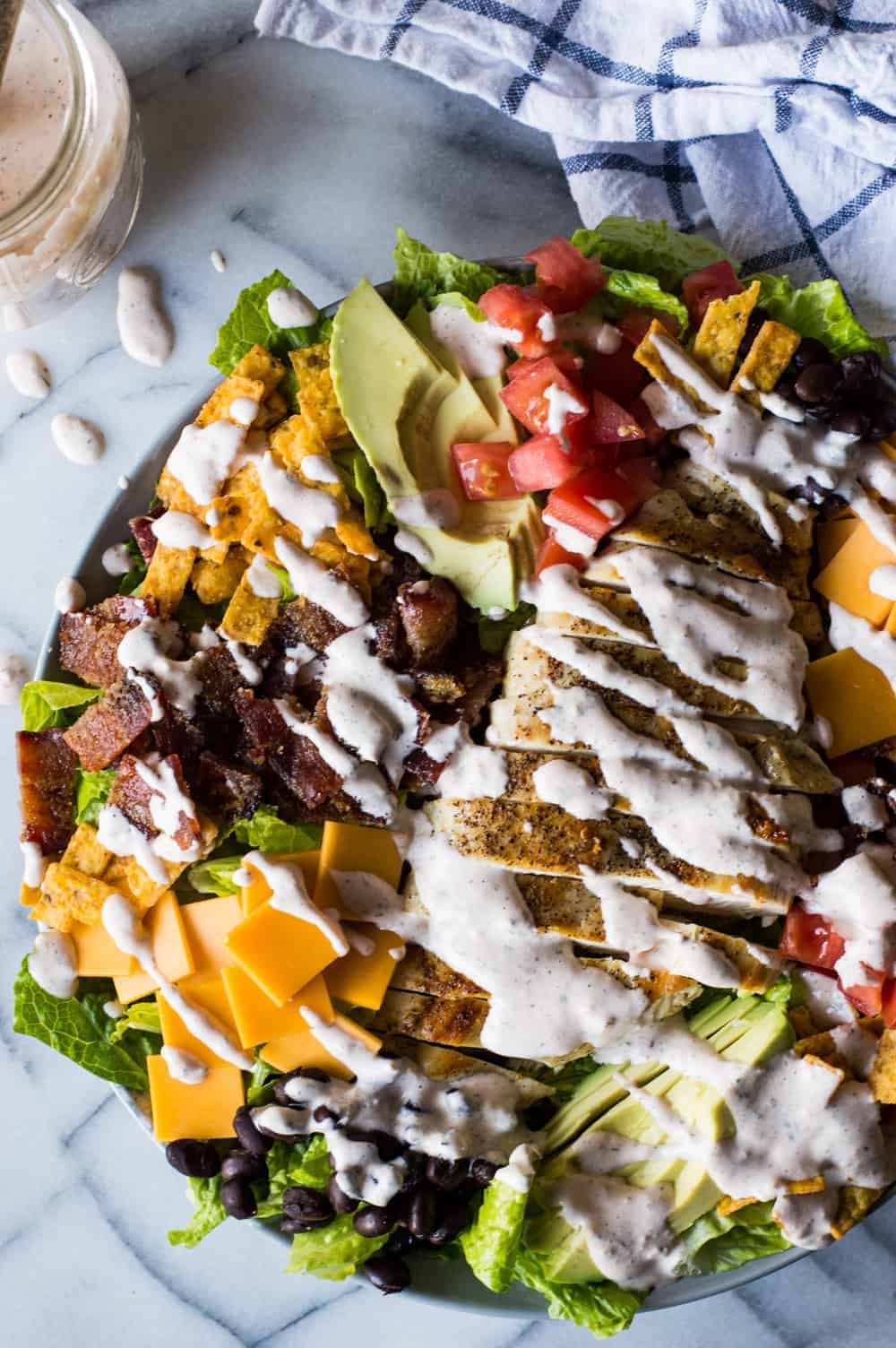 Southwest Grilled Chicken Salad With Candied Bacon The Recipe Critic