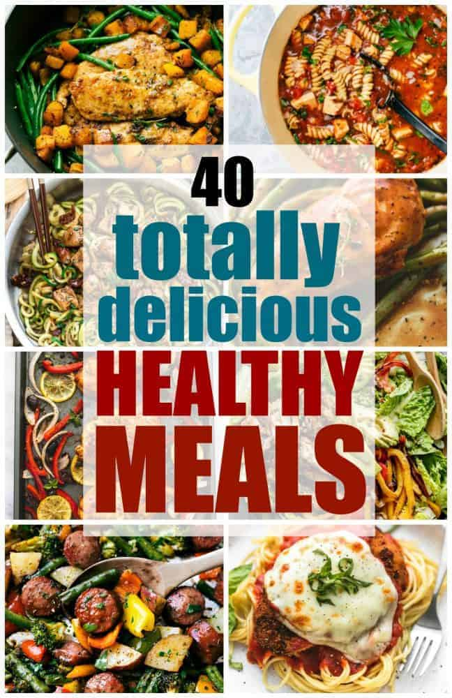 40 totally delicious healthy meals the recipe critic hey hey its tiffany from creme de la crumb its blowing my mind a little bit that its january and that 2017 is here i made a big long list of new forumfinder Gallery