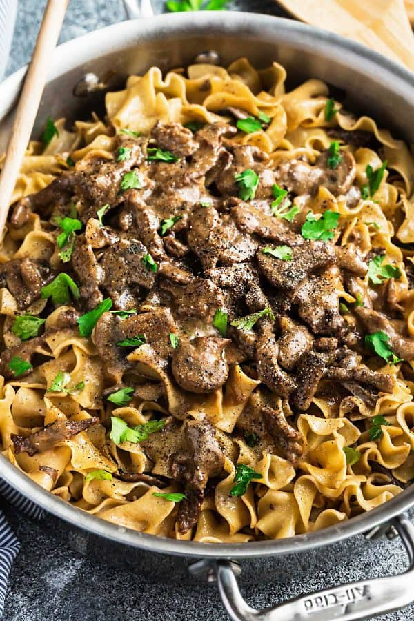One Pot Beef Stroganoff The Recipe Critic
