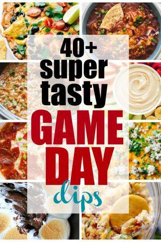 Super Tasty Game Day Dips