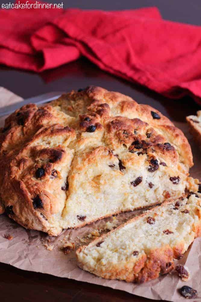 Irish Soda Bread loaf.