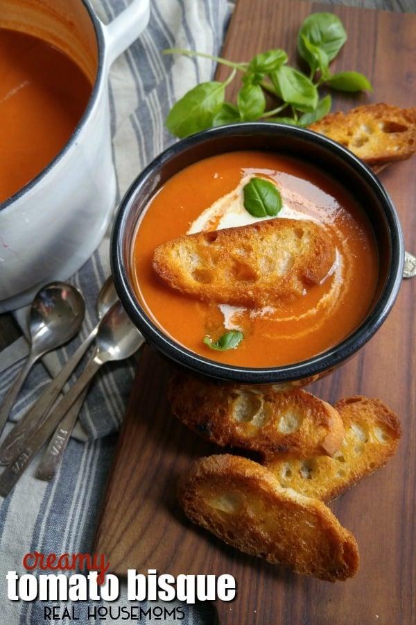 Creamy Tomato Bisque