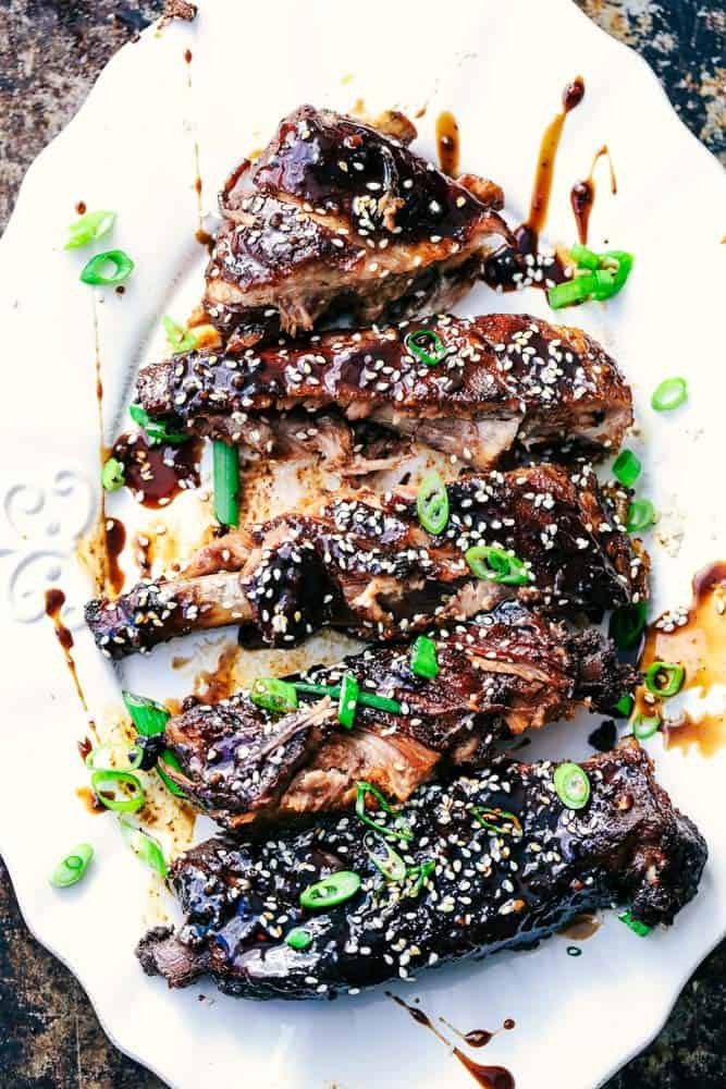 Slow Cooker Sticky Asian Ribs with Sticky Sauce 5