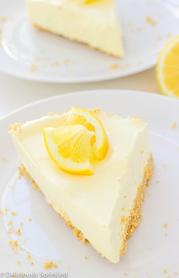 No-Bake Lemon Pie