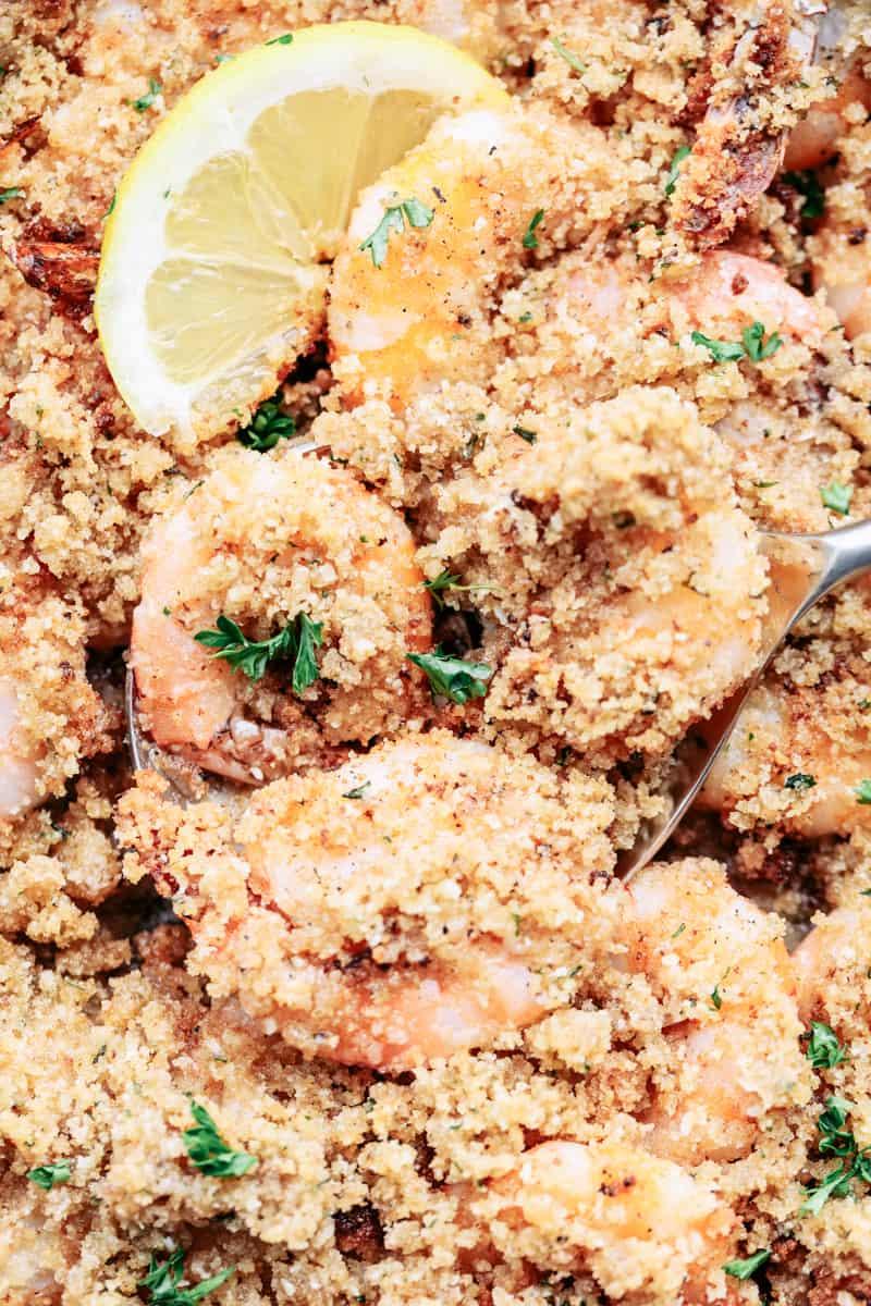 Crunchy Baked Parmesan Garlic Shrimp 3