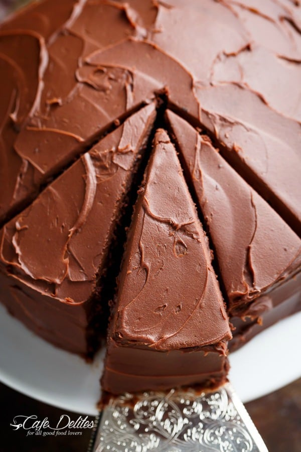 Best Fudgy Chocolate Cake