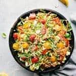 Brussels Sprouts Parmesan Salad