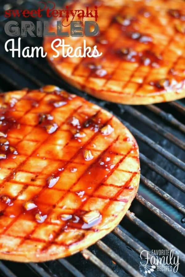 Sweet Teriyaki Ham Steaks