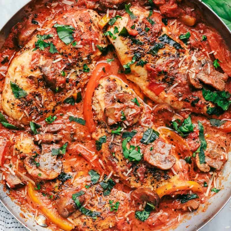 Slow Cooker Chicken Cacciatore – The Recipe Critic
