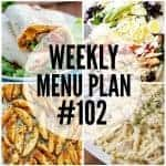 Weekly Menu Plan #102