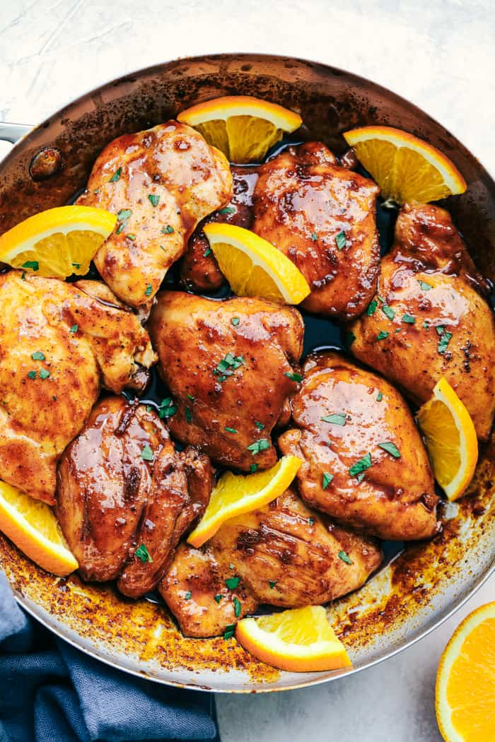 Honey Orange Glazed Chicken The Recipe Critic