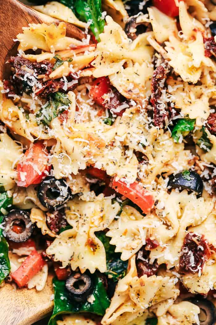 Tuscan Pasta Salad 4